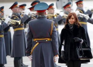La Presidenta arribó a Rusia en visita oficial