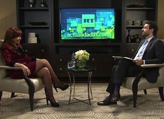 Entrevista de Cristina Kirchner con RT