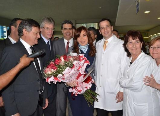 """Hoy en Chaco inauguramos el Primer Hospital Pediátrico de Resistencia """"Dr. Avellino Castelan"""""""