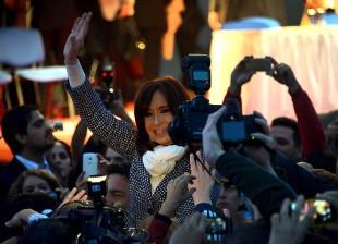 Cristina Kirchner en Rio Negro