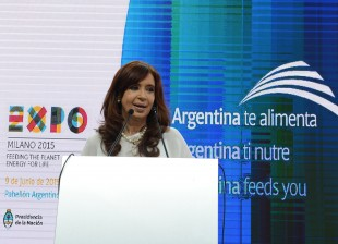 Pabellón Argentino de la Expo de Milán 2015.