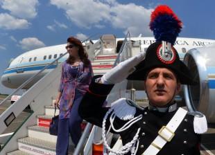Cristina Fernandez de Kirchner en Italia