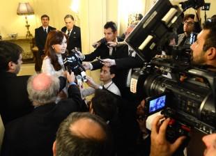 Cristina Kirchner en Roma