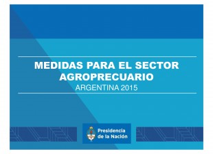 Productores Agropecuarios.