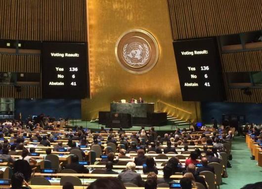 La ONU aprobó la iniciativa argentina sobre el marco legal para la reestructuración de deudas soberanas.