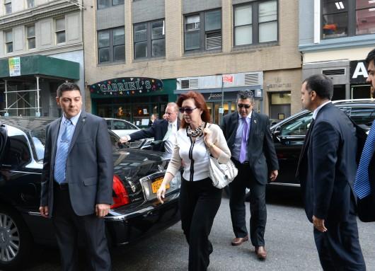 Cristina Kirchner en New York