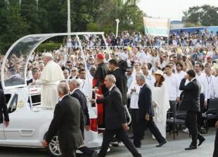 Cuba en la histórica misa que celebra el Papa en La Habana