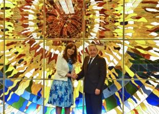 Encuentro con Raúl Castro en el Palacio de la Revolución