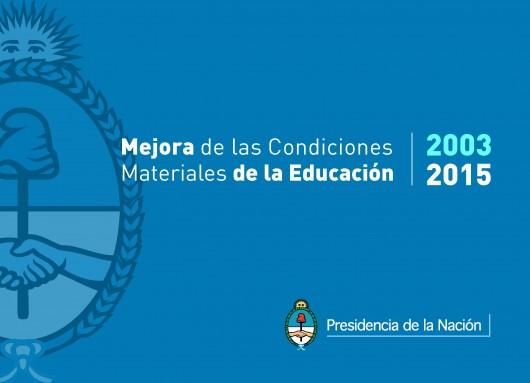 Infraestructura Escolar 2003-2015