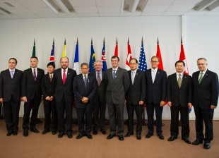 Trade Ministers from Trans-Pacific (TPP) Meeting in Vladivostok