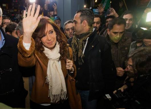 CFK en AEP