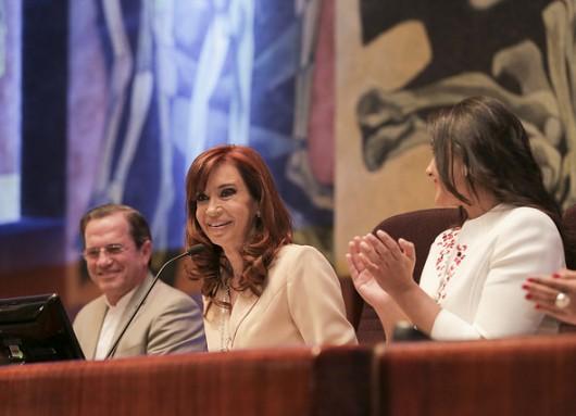 CFK en Ecuador