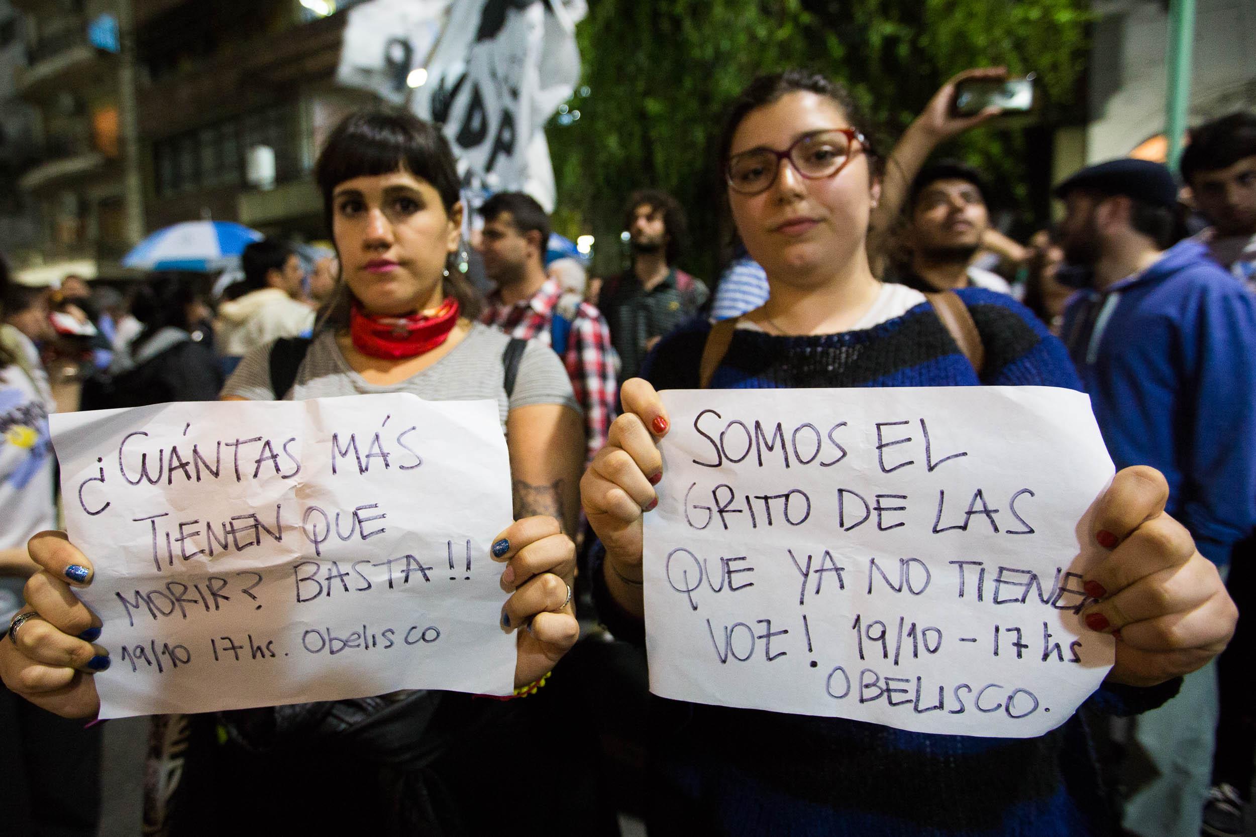 Cristina Kirchner ni una menos