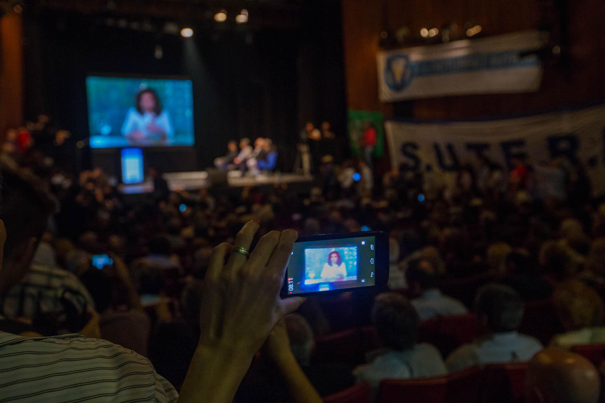 Cristina Kirchner dia de la lealtad