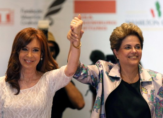 CFK en Brasil