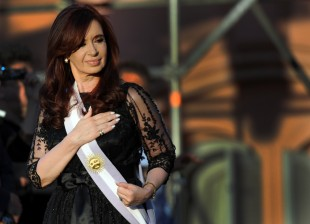 Argentina's reelected President Cristina