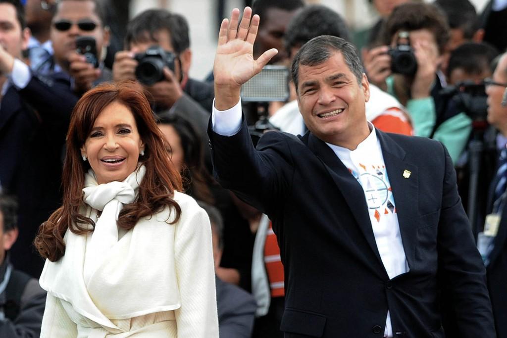 CFK y Correa