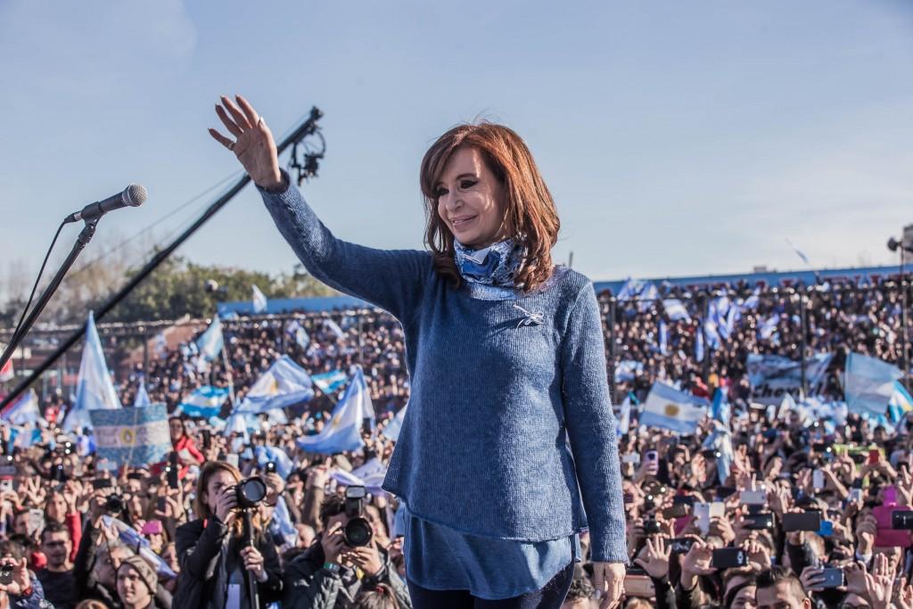 Cristina Kirchner en Arsenal, Unidad Ciudadana