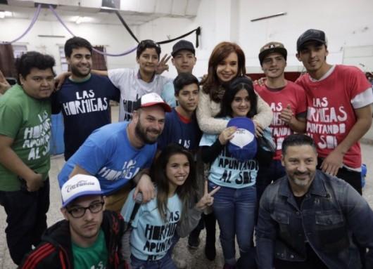 CFK en Merlo
